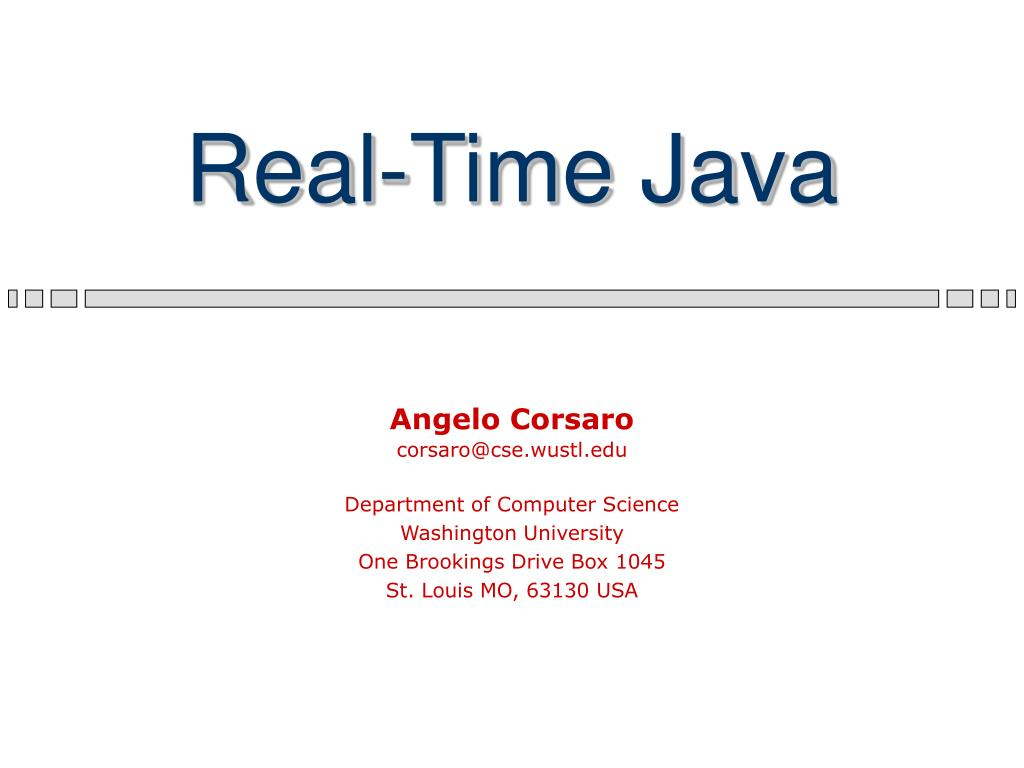 real time java