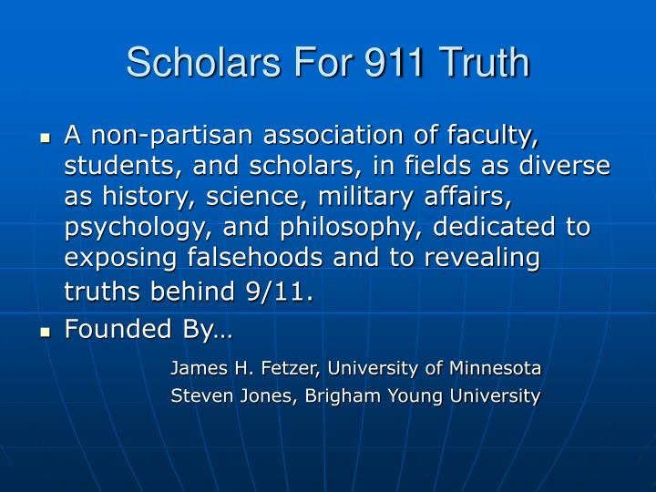 Scholars For 911 Truth