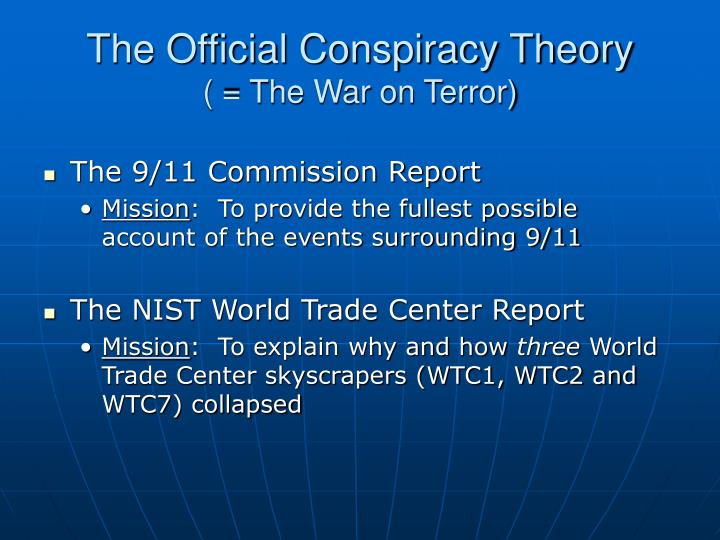 The Official Conspiracy Theory