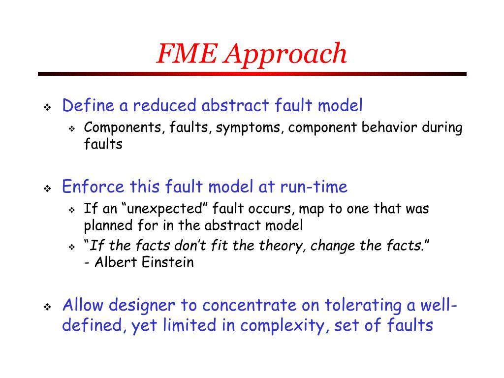 FME Approach