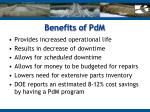 benefits of pdm