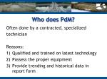 who does pdm