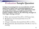 evaluation sample question62