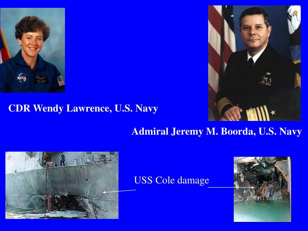 CDR Wendy Lawrence, U.S. Navy