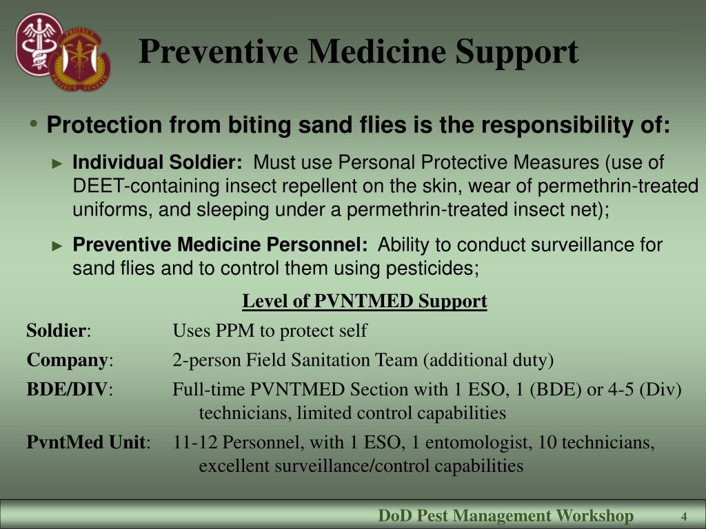 Preventive Medicine Support