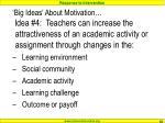 big ideas about motivation39