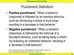 punishment definitions