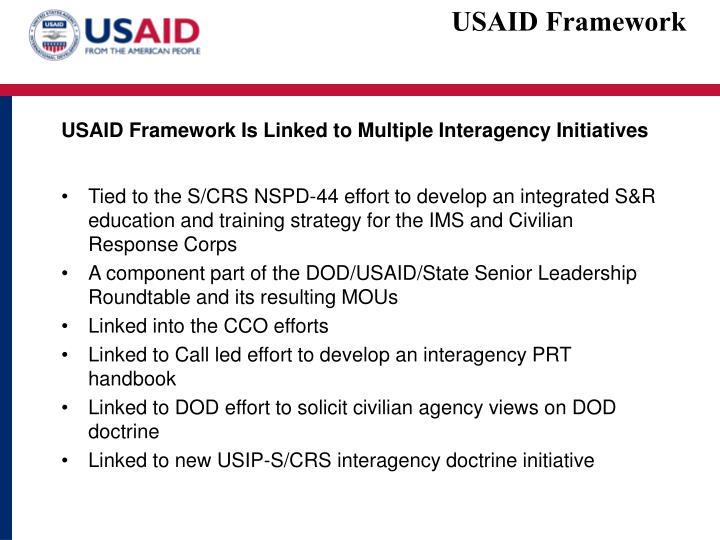 USAID Framework