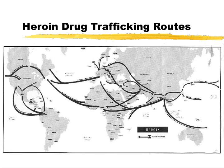Heroin Drug Trafficking Routes