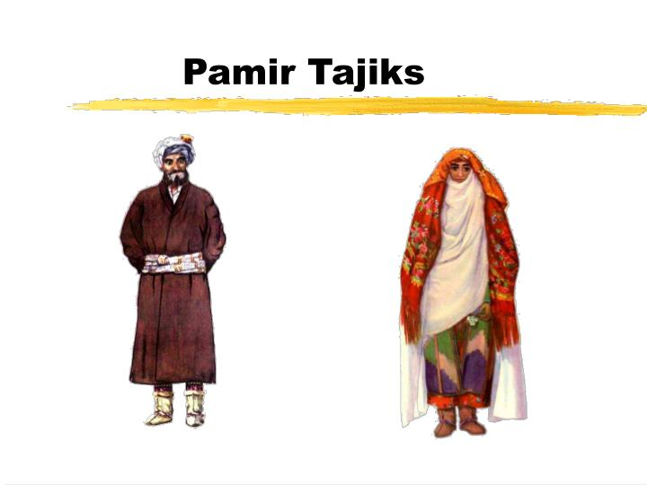 Pamir Tajiks