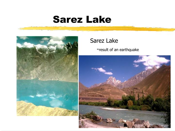 Sarez Lake
