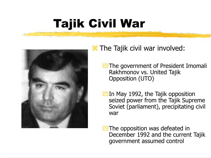 Tajik Civil War