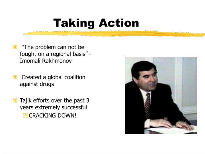 Taking Action
