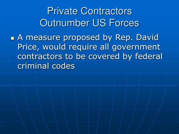 Private Contractors