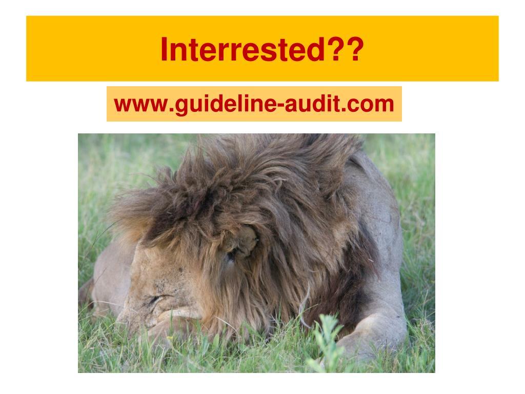 Interrested??