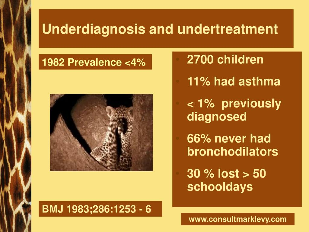 Underdiagnosis and undertreatment