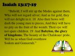isaiah 13 17 19