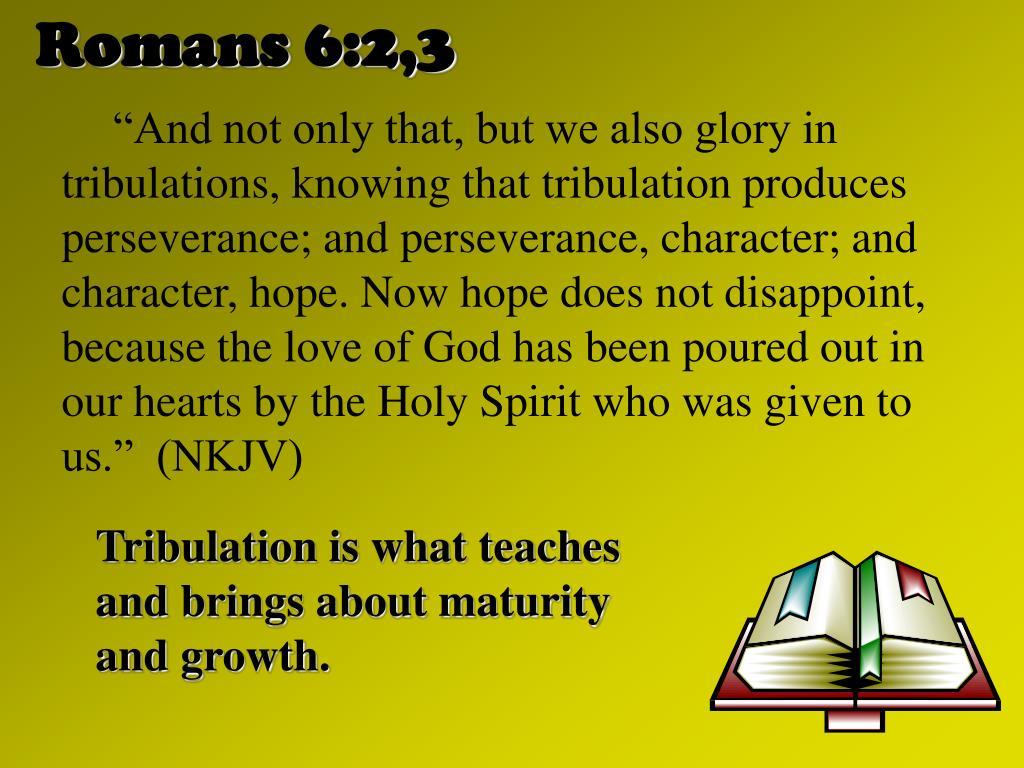 Romans 6:2,3