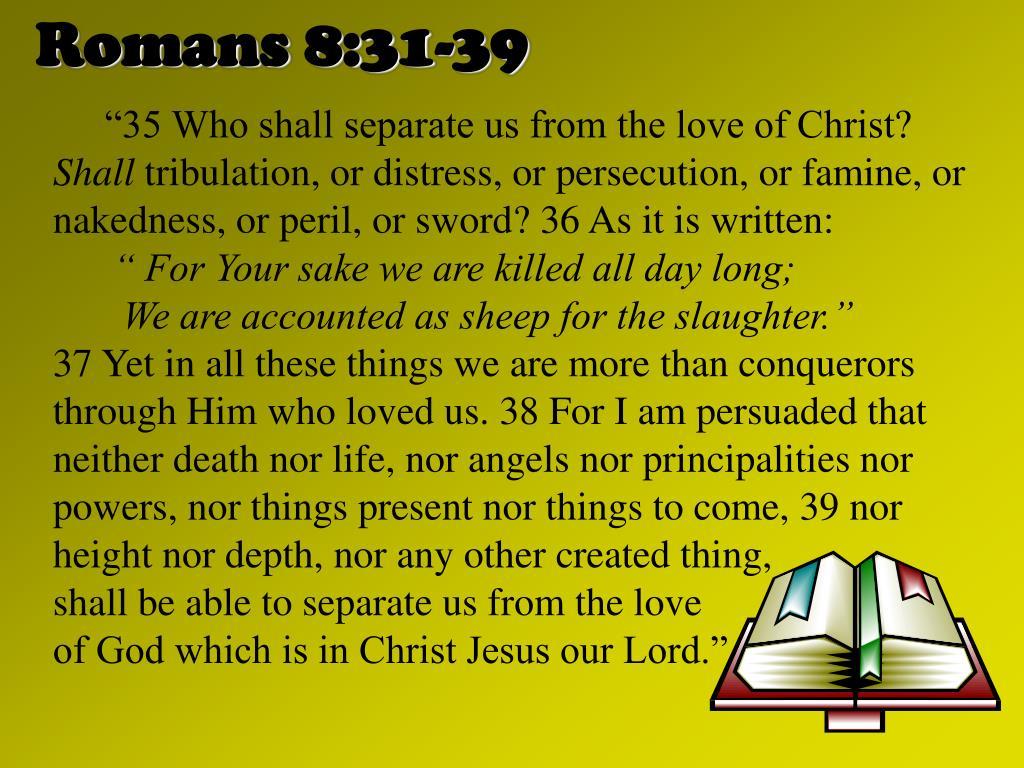 Romans 8:31-39