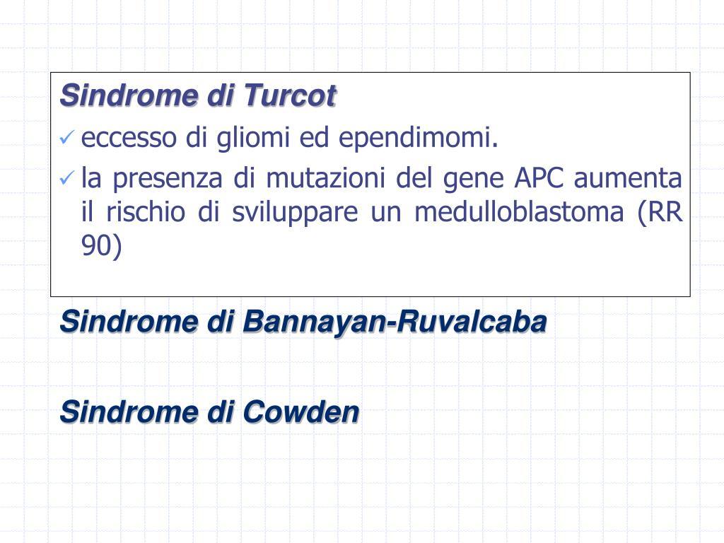 Sindrome di Turcot