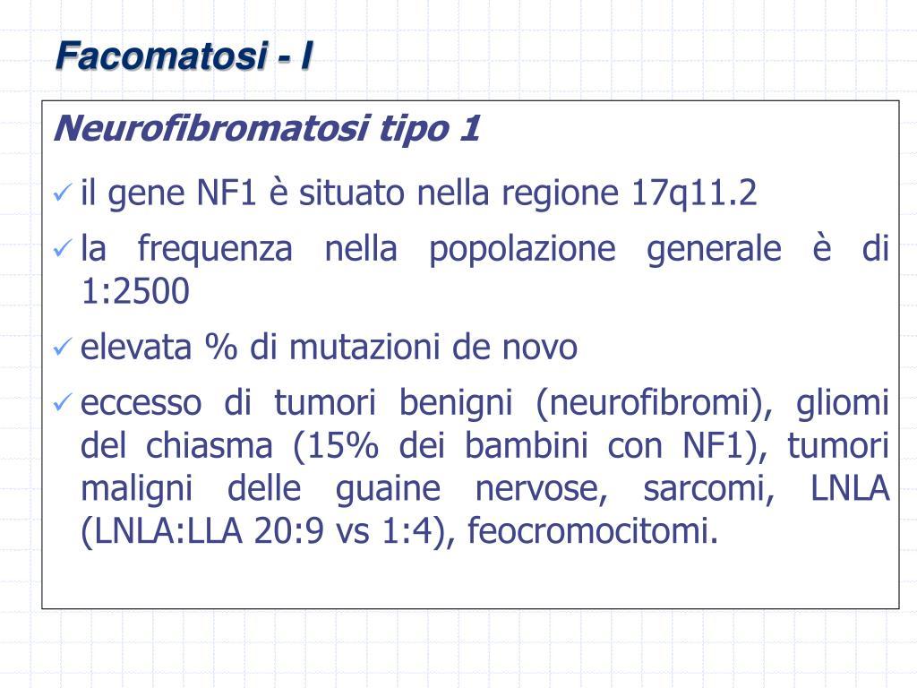 Neurofibromatosi tipo 1