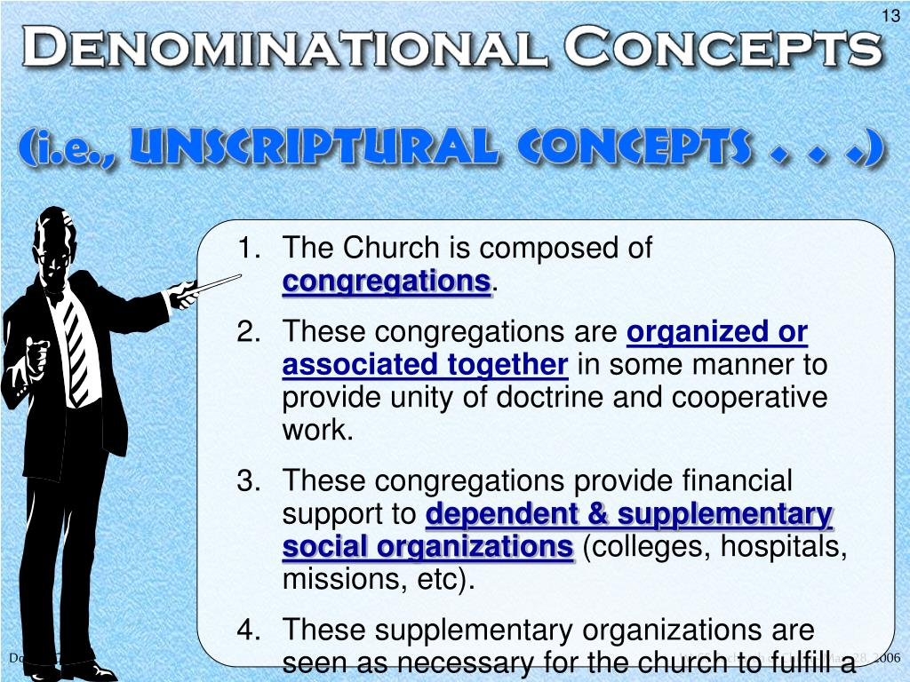 The Church is composed of