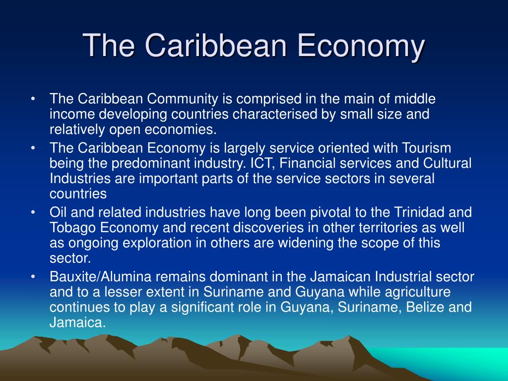 technology s impact caribbean ecnomies Title length color rating : the impact of industrialisation by invitation on the caribbean - this paper is endeavouring to demonstrate the concept of industrialisation by invitation and its social impact on the caribbean.