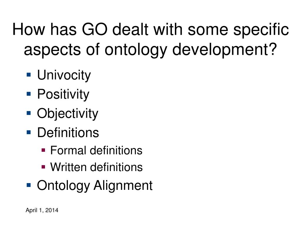 How has GO dealt with some specific aspects of ontology development?