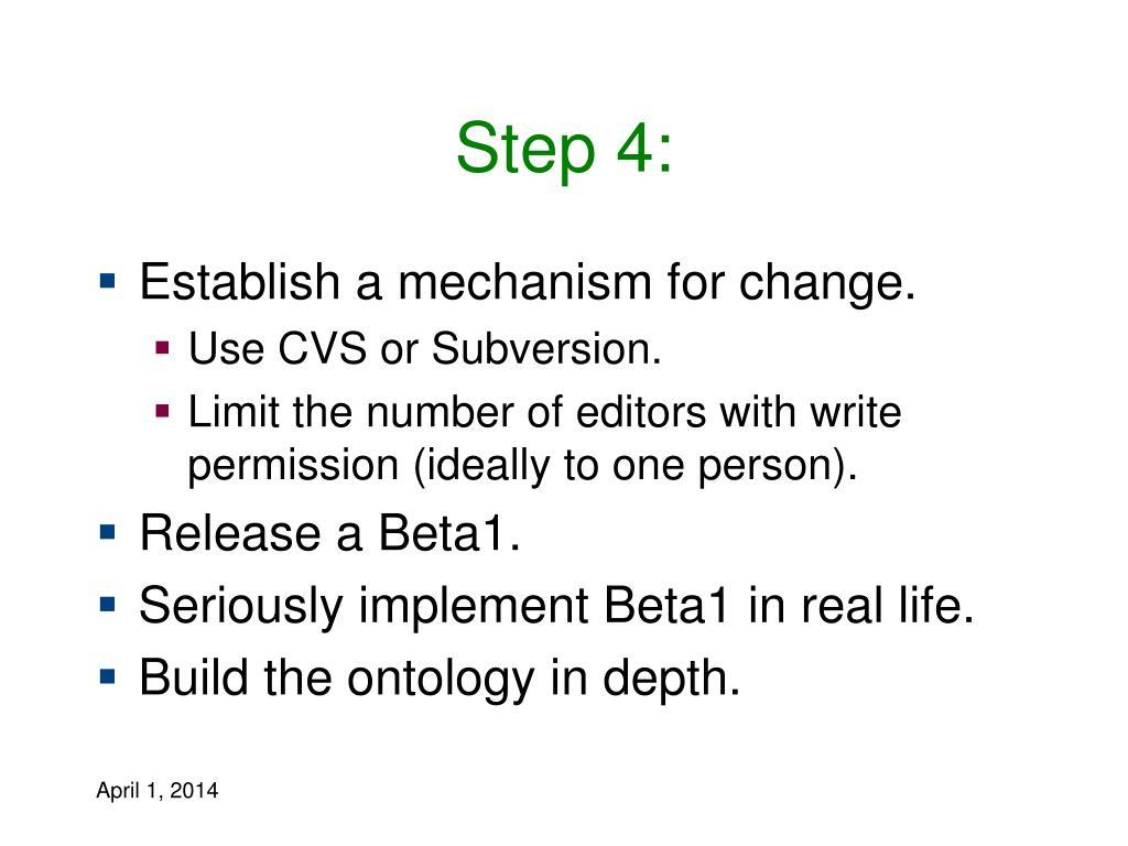 Step 4: