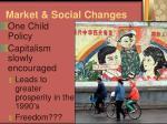 market social changes