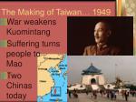 the making of taiwan 1949