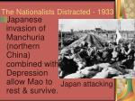 the nationalists distracted 1933