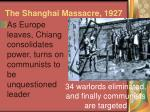 the shanghai massacre 1927