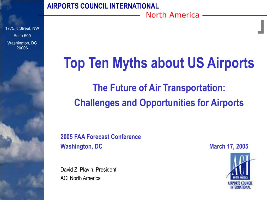 AIRPORTS COUNCIL INTERNATIONAL