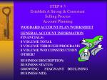 step 3 establish a strong consistent selling process account planning