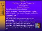 step 3 establish a strong consistent selling process business planning34