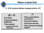 mission analysis brief27