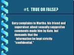 1 true or false52