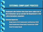external complaint process