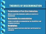 theories of discrimination10