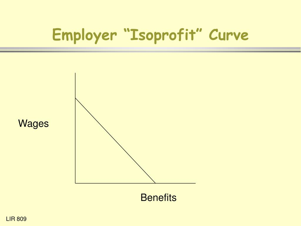 "Employer ""Isoprofit"" Curve"
