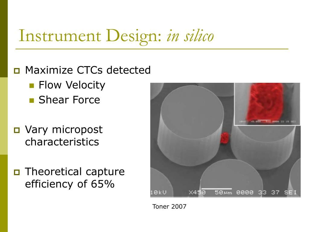 Instrument Design: