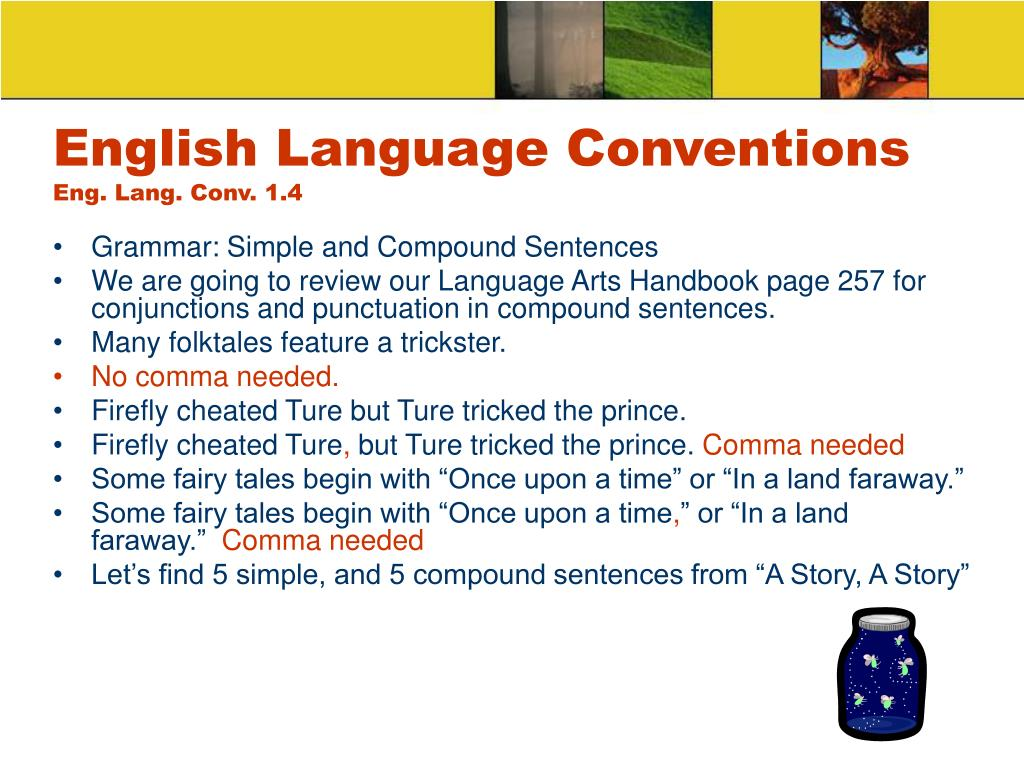 English Language Conventions