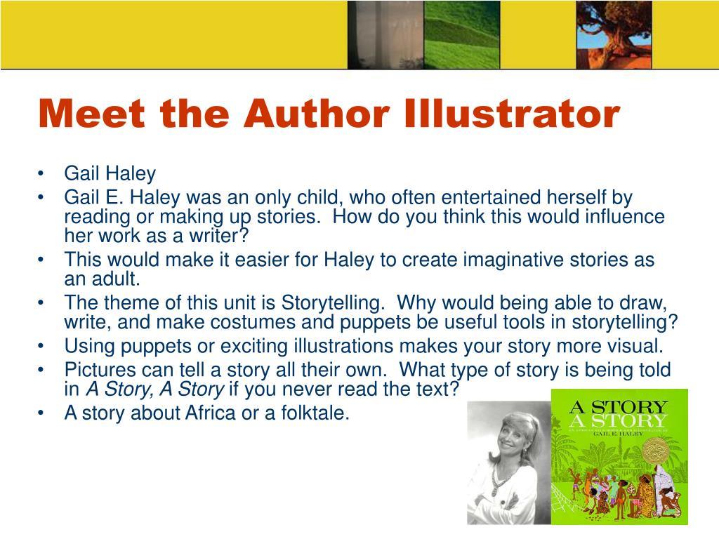 Meet the Author Illustrator