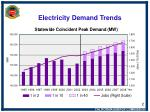 electricity demand trends