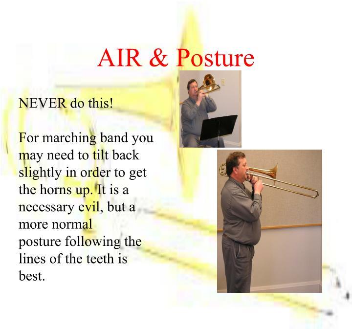 AIR & Posture