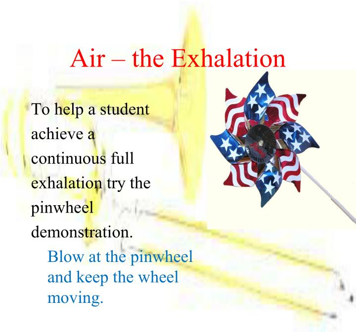 Air – the Exhalation
