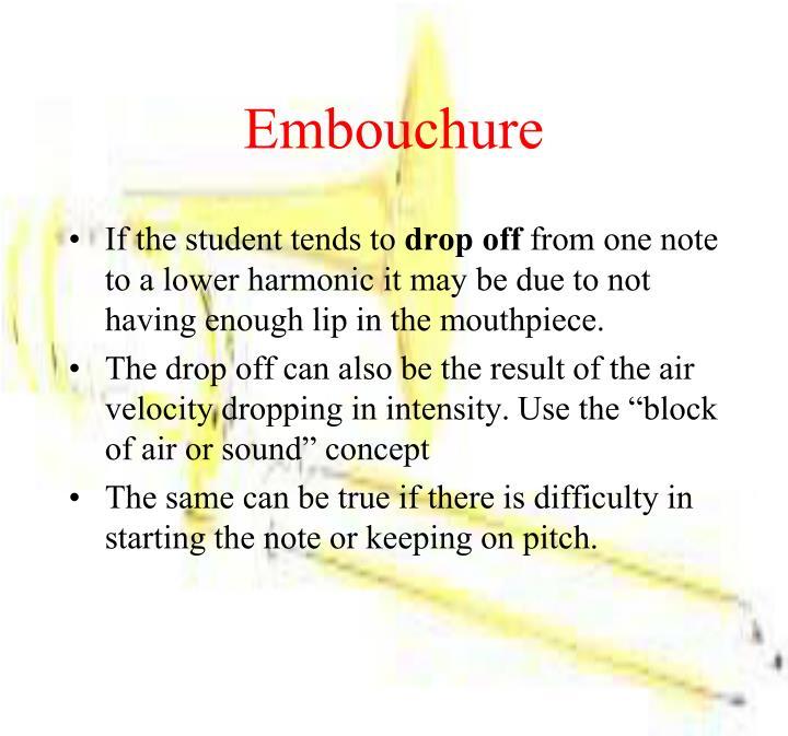 Embouchure