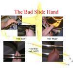 the bad slide hand