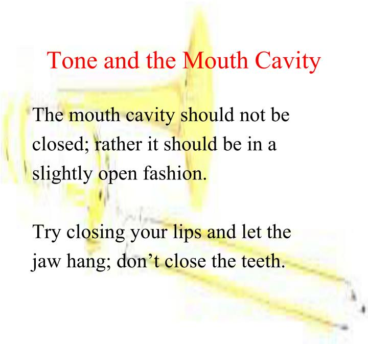 Tone and the Mouth Cavity